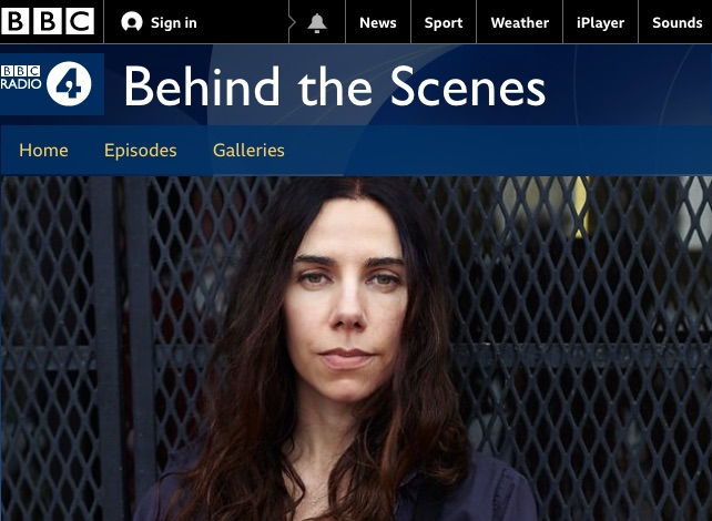 PJ Harvey - BBC Radio 4 - Behind the Scenes Program